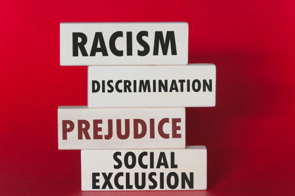 a discussion of the problems of prejudices and discrimination in the united states